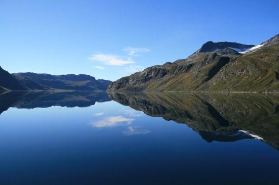 Jezioro Bygdin