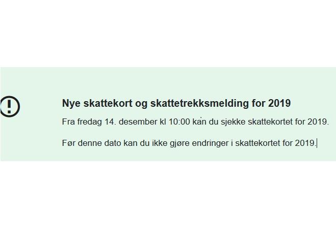 Skattekort – karta podatkowa w Norwegii – podstawowe informacje